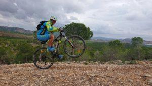 Caballito MTB BTT BXM en cortafuegos de Coto Cuadros por comunitario Alonsojpd por Comunidad Biker MTB