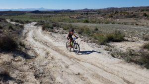 Sector ciclismo en montaña en duatlón cross de corvera comunitaria Patricia Carmona por Comunidad Biker MTB