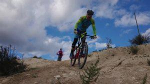 Descenso MTB BTT por Vía Verde del comunitario Patrick por Comunidad Biker MTB