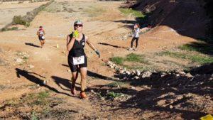 Sector carrera en montaña en duatlón cross de corvera comunitaria Patricia Carmona por Comunidad Biker MTB