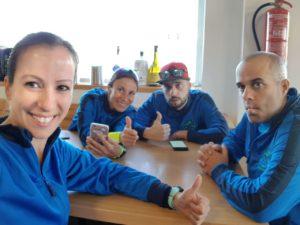 Comida tras duatlón cross de Corvera por Comunidad Biker MTB