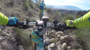 Senda Nueva en sierra de Ricote por Comunidad Biker MTB