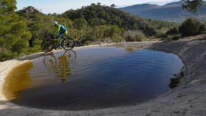 Abrevadero de animales en la Sierra de Ricote por el comunitario Alonsojpd por Comunidad Biker MTB