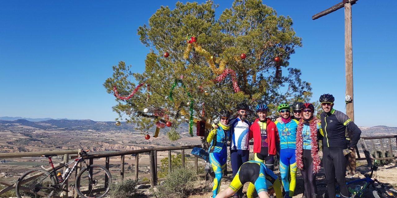 Crónica de la ruta MTB Puebla de Mula y Montes de Pliego con comunitarios Samuel y Patricio