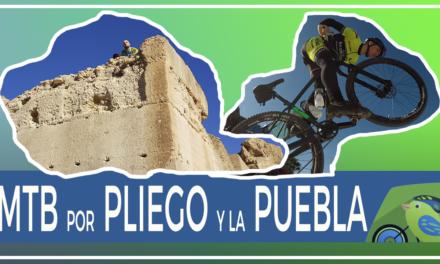 Vídeo | Ruta MTB BTT Puebla y montes de Pliego con comunitarios Samuel y Patricio