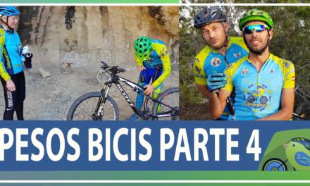 Vídeo | Peso bicicletas comunitarios Comunidad Biker MTB Parte 4