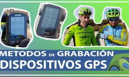Vídeo | Métodos de grabación de las rutas | Dispositivos GPS