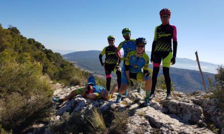 Crónica de la ruta MTB Sierra Espuña por Sendero Agua con comunitarios Jose Antonio y Benito