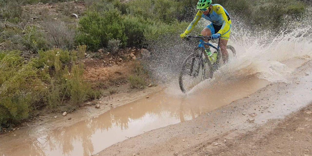Crónica de la Ruta MTB con barro y agua por Coto Cuadros y rambla del Agua