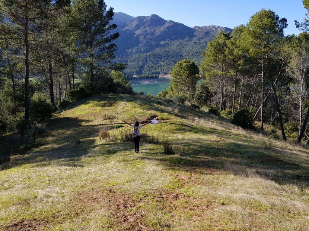 Isla de la Viña en el Embalse del Tranco de Beas por Comunidad Biker MTB