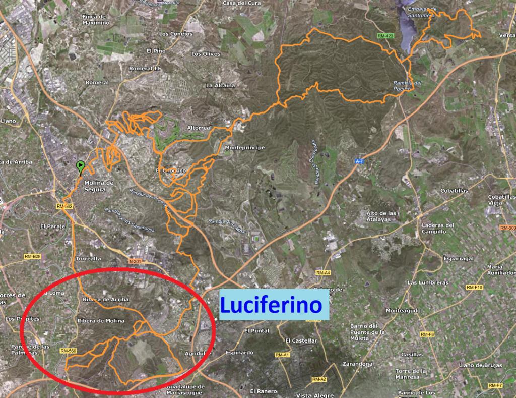 Primera parte del Averno, Circuito Luciferino