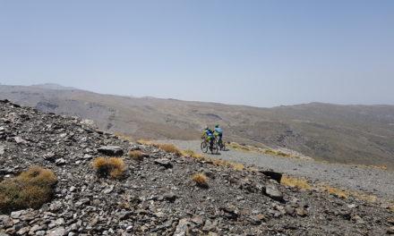 Ciclismo por Veleta en Sierra Nevada | Viaje 2 Autocaravana