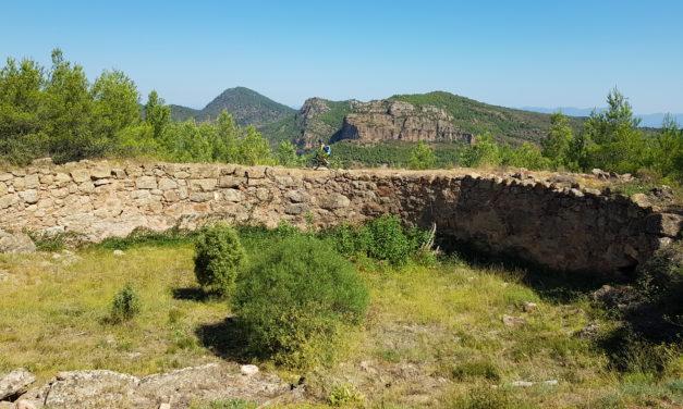 Crónica de la ruta MTB BTT XCM por el castillo de Serra y las fuentes de la sierra Calderona con el nevero Ventisquer y la Cartuja de Porta Coeli | Viaje 4 Autocaravana