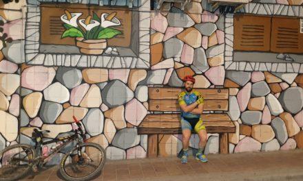 El ciclismo urbano también mola en busca de murales graffitis y monumentos por Molina de Segura