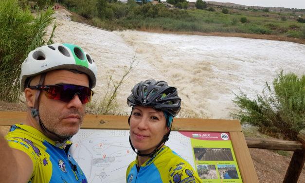 Los efectos del DANA o gota fría por Murcia en rutas de ciclismo de montaña y senderismo