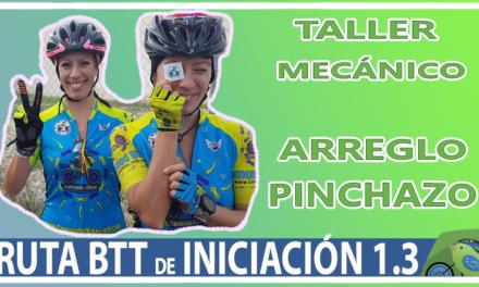 Vídeo | Iniciación ciclismo montaña 1.3 | Taller mecánico arreglo pinchazo