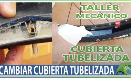Vídeo | Sustituir cubierta desgastada por nueva en ruedas tubelizadas