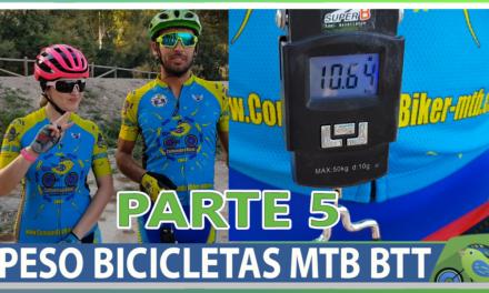 Vídeo | Peso bicicletas de los comunitarios Parte 5