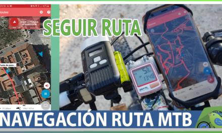 Vídeo | Cómo seguir ruta ciclismo montaña con App gratuita y el móvil